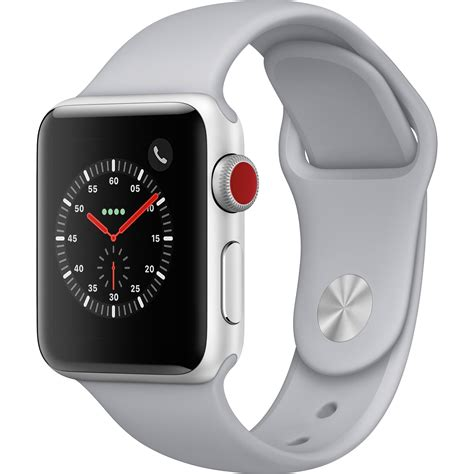 Apple Series 3 Gps 38mm Silver Fog Sport Band Limited apple series 3 38mm smartwatch mqjn2ll a b h photo