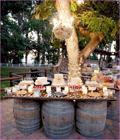 Backyard Wedding Centerpiece Ideas Outdoor Wedding Decorations On A Budget Inseltage Info Inseltage Info