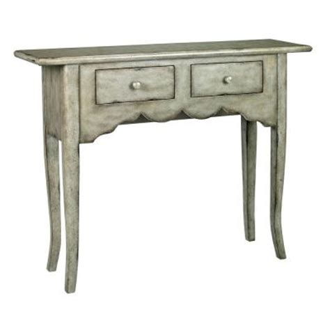 home depot sofa table home decorators collection emily antique grey console