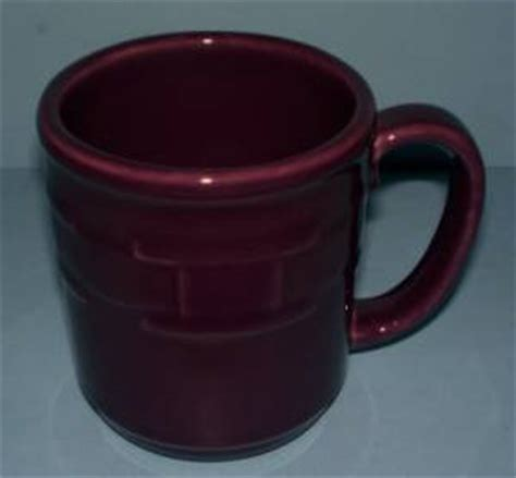 Mug Basket Usa longaberger eggplant coffee mug usa made new ebay