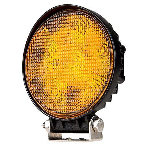 amber led emergency vehicle lights round amber led vehicle strobe light w built in