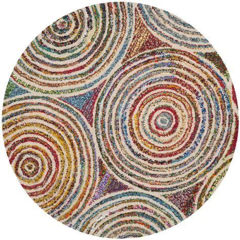 4 ft rug safavieh nantucket beige 4 ft x 4 ft area rug