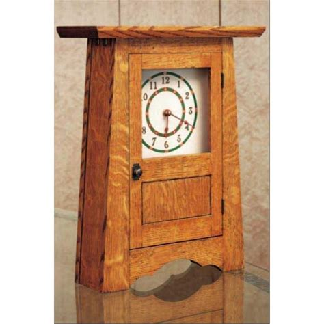 woodworking clock plans woodworker s journal craftsman clock plan rockler