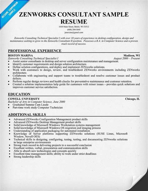 Resume Zen resume format zen resume template