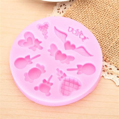 silicone chocolate cake decorating mold lollipop