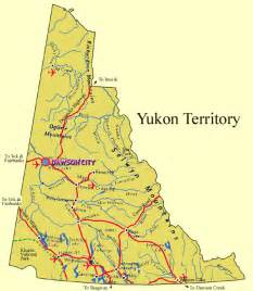 maps of yukon territory