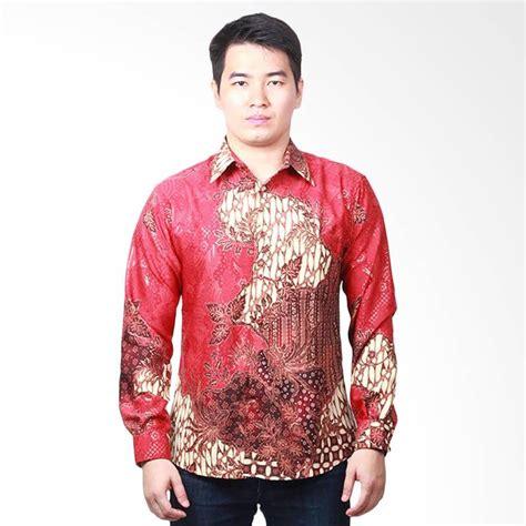 Kemeja Batik Pria Slim Fit Lengan Panjang Harga Grosir 17 jual parama batik slim fit prosperity kemeja batik lengan