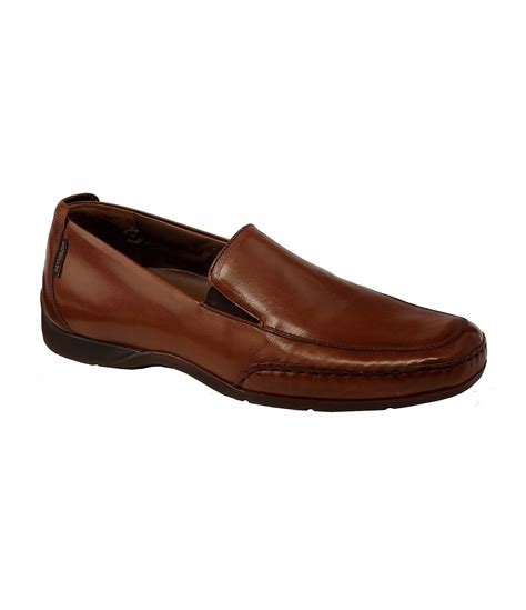 mephisto loafers mephisto edlef casual leather slip on loafers in brown for