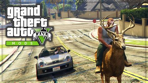mod ride game pc gta 5 pc mods quot ride animals quot funny gta v pc mods