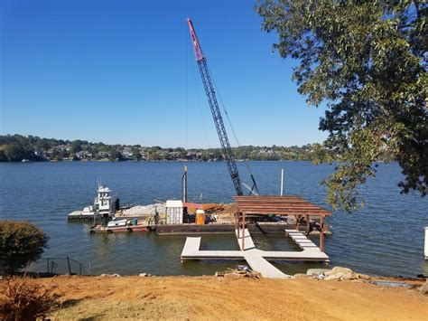 boat lift knoxville tn 7 reasons why you should build a custom dock knoxville barge
