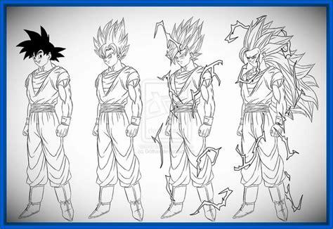 imagenes de goku en todas sus fases imagenes de goku para dibujar de fase 4 archivos dibujos