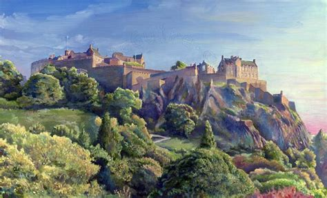 Landscape Artists Edinburgh Andy Mcguire Artwork