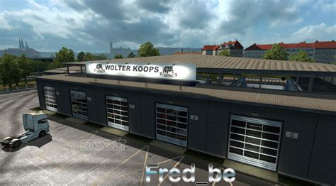 custom large garage ets 2 mods ets2downloads big garage wolter koops ets 2 mods