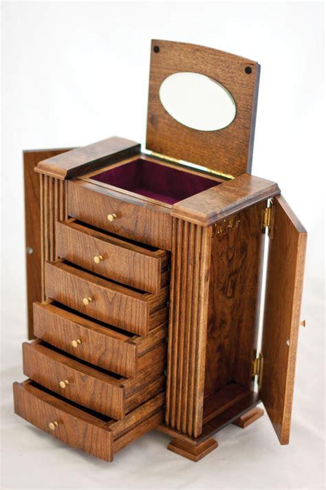 cherry wood jewelry box joyeros de madera muebles