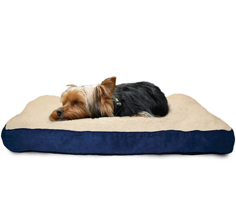 dog pillow bed furhaven pet nap deluxe pillow pet bed for dogs ebay