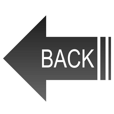 button back free illustration black back button navigation free
