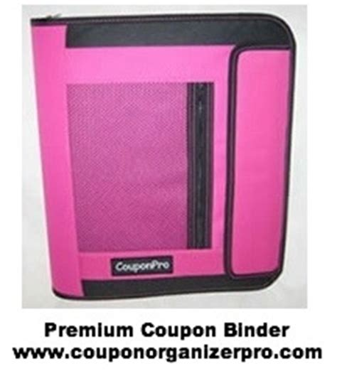 Binder Giveaway - coupon organizer pro premium coupon binder giveaway