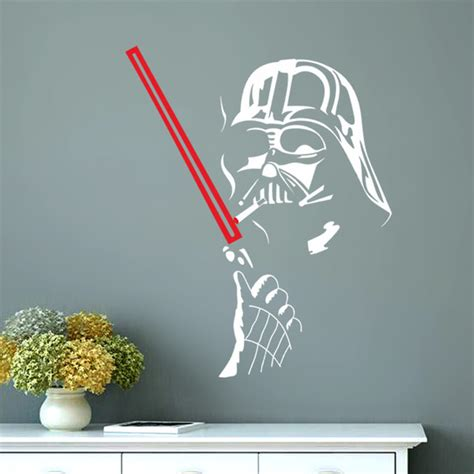 Lego Wall Art Stickers aliexpress com buy star wars wall art home decoration