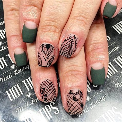nails pattern psd 25 lace nail art designs ideas design trends premium