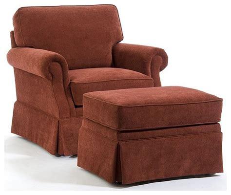 broyhill chair and ottoman broyhill anna cinnamon chair and ottoman set 014573 0q