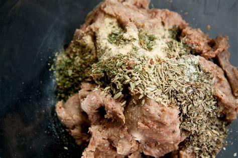 country style pork sausage recipe how to turn pork breakfast sausage into italian sausage