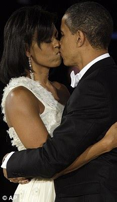 Barack and Michelle Obama go for a romantic meal to