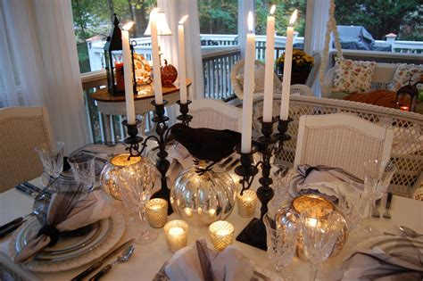 wedding tablescapes with candles 2 tablescape