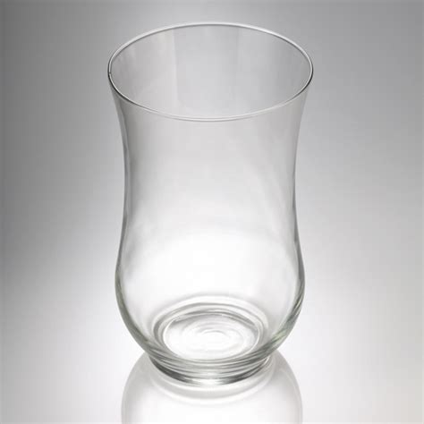 hurricane glass vase 10 5in glass hurricane vases set of 12