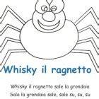 whiskey il ragnetto testo whisky ragnetto canzone e testo per cantare con i bambini