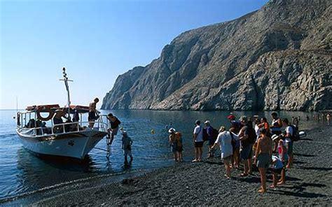 beaches   cyclades greece kamari santorini