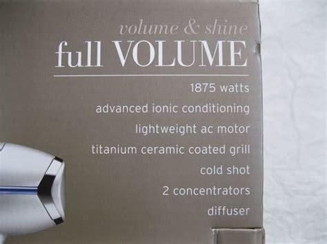 Frieda Hair Dryer Attachments frieda volume and shine volume 1875 watt hair