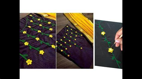 boat neck embroidery designs for kurtis aari maggam work boat neck design for churidar kurti