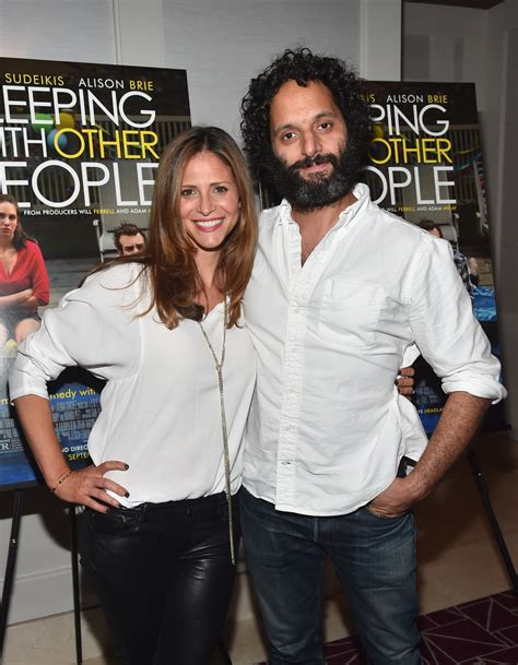 jason mantzoukas married to andrea savage gallery leather celebrities