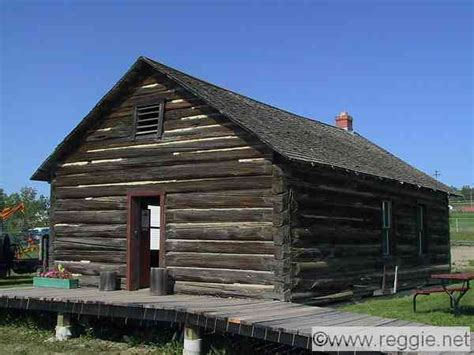pioneer house taylor house pioneer village dawson creek british columbia canada photo