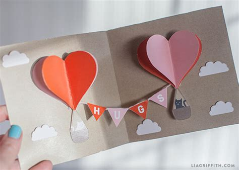 free pop up card templates valentines make your own diy pop up card today