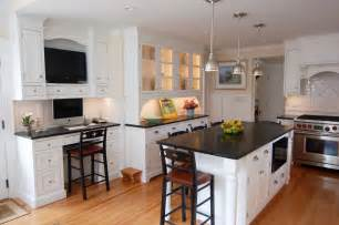 White Kitchen Island With Granite Top by White Kitchen Island With Granite Top For Small Spaces