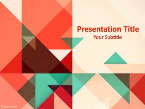 Geometric Templates by Free Geometrical Powerpoint Templates Myfreeppt