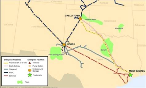 texas express pipeline map enterprise enbridge and anadarko to jointly develop new ngl pipeline linking key gas