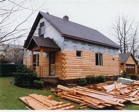 Faux Log Cabin Siding by Are Bathroom Decoration Dominated White Color This