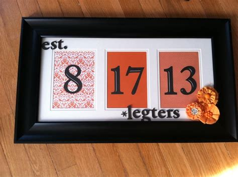 diy crafts for couples bridal shower diy gift wedding date couples last name