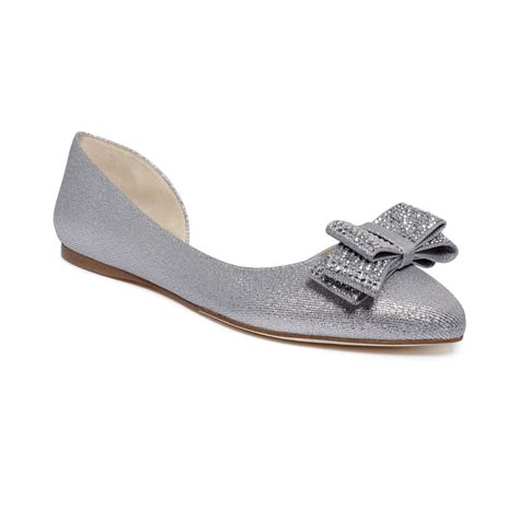 inc shoes flats inc international concepts celya bow flats in silver