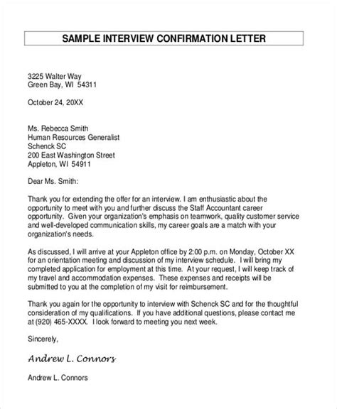 confirmation of appointment letter template appointment letter template 6 free word pdf format