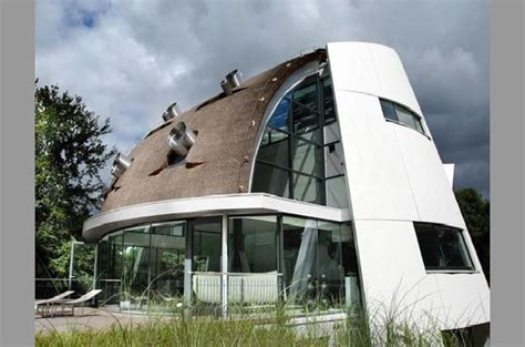 futuristic home design by factor architecture netherlands