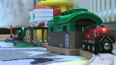 brio vs thomas brio wooden train movie brioloco vs thomas the tank