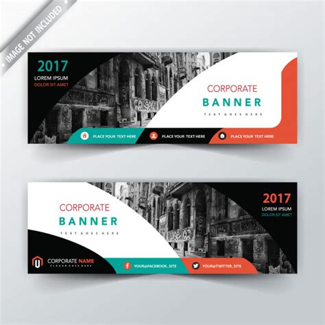 banner design latest web banner vectors photos and psd files free download