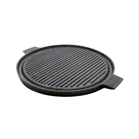 Grill Plate For Induction Cooktop typhoon cast iron reversible induction griddle grill plate 43 cm 1400 323 ebay