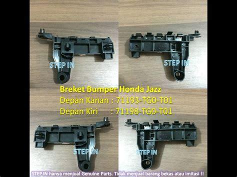 Breket Bumper Depan Bracket Bemper Honda New Jazz 2015 Baru Genuine 06 29 16 wearetheparsons