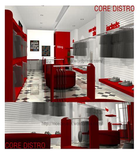 desain rumah distro desain rumah dot interior distro