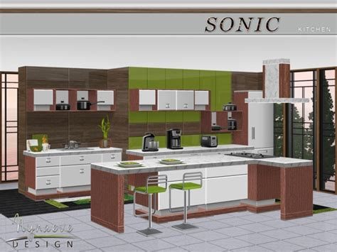 sims 3 kitchen ideas nynaevedesign s sonic kitchen