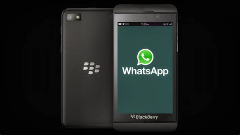 whatsapp and no longer support blackberry what